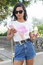 White-ice-cream-aeropostale-top