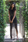 Black-lace-black-swan-dress