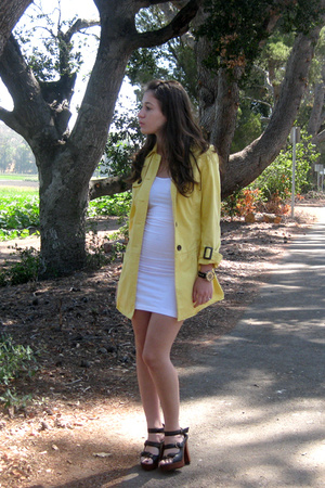 Old Navy jacket - American Apparel dress - Jeffery Campbell shoes - vintage acce