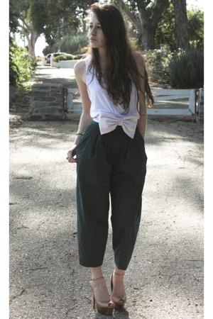 American Apparel t-shirt - H&M pants - Erin Fetherston for Target belt - Jessica