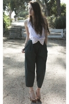 American Apparel t-shirt - H&M pants - Erin Fetherston for Target belt - Jessica