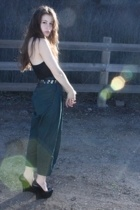 American Apparel t-shirt - H&M pants - Bebe shoes - Zara belt