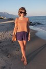 Vintage-from-ebay-bag-h-m-shorts-chanel-sunglasses-h-m-top