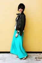 Zara jacket - Mango skirt - Zara top