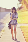 Navy-chic-nova-shirt-deep-purple-floral-track-tobi-shorts