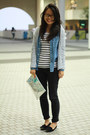 Stripe-shirt-h-m-shirt-denim-shirt-5cm-shirt-h-m-bag