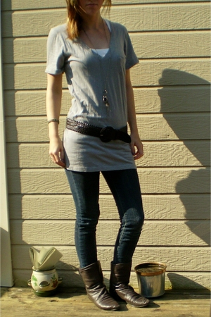 eyeshadow shirt - Z co jeans - Chinese Laundry boots