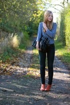 Mirapodo boots - Primark jeans - Charles Vgele blouse