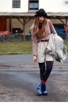 Dr Martens boots - Zara jacket - Primark shirt - vintage pants