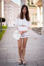 31-phillip-lim-bag-zara-shorts-zara-wedges-zara-top