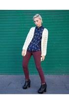 Violet Boutique cardigan - fawn shirt Violet Boutique shirt