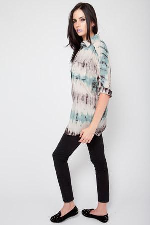 inkblot tie dye Violet Boutique shirt