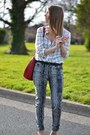 Dark-gray-zara-jeans-off-white-forever-21-shirt