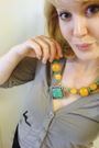 Bought-in-nepal-necklace-black-random-from-winners-pants-beige-zellers-cardi