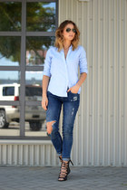 Zara jeans - Gap blouse