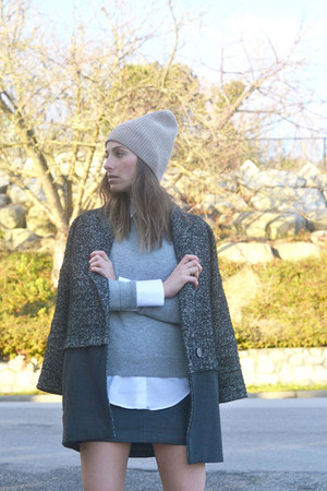 grey Topshop coat