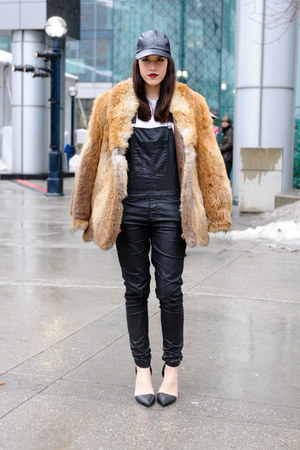 overalls Forever 21 jeans - liya Alexander Wang heels