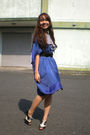Blue-moms-dress-white-moms-scarf-black-ilaya-shoes