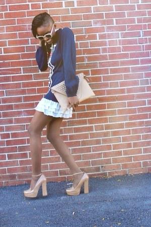 Forever 21 dress - zeroUV sunglasses - 6pm heels