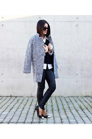 Sheinside coat - wholesale heels