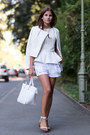 White-yas-jacket-white-zara-bag-white-h-m-shorts