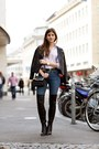 Black-thigh-high-zign-boots-blue-skinny-hudson-jeans