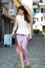 Split-goodnight-macaroon-skirt-striped-bag-pumps-pastel-necklace