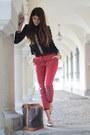 Greek-shirt-brick-red-h-m-hat-grand-noé-louis-vuitton-bag