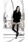 Black-forever-21-shirt-beige-volcom-shorts-black-tights-black-aldo-shoes