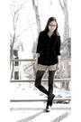 Black-forever-21-shirt-beige-volcom-shorts-black-tights-black-aldo-shoes