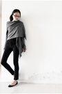 Gray-zara-cardigan-black-uniqlo-shirt-black-delias-jeans-black-aldo-shoes