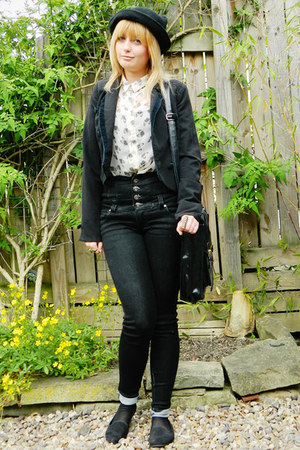 Ebay hat - Boohoo jeans - jacket Miss Selfridge jacket