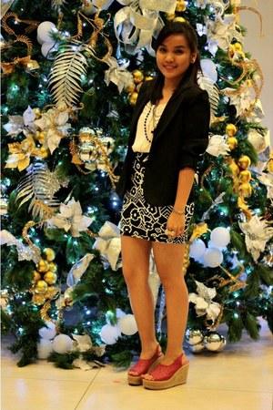 bandage skirt Forever21 skirt - random brand blazer - Forever21 accessories