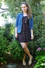Black-self-made-dress-blue-madewell-shirt-dark-brown-valentino-sunglasses