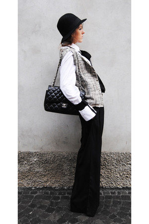 255 Chanel bag - maggie jacket - man shirt gianfranco ferre shirt