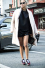 Light-pink-h-m-coat-black-alexander-wang-purse-black-thpshop-shorts