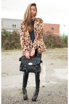 MY SECOND LEOPARD COAT...EVER