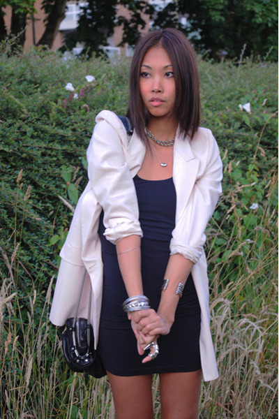 Zara blazer - talula babaton dress - Alexander Wang purse - Forever21 boots