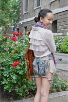 pink Queens Wardrobe shirt - green Store Rooms shorts - brown from Shanghai purs