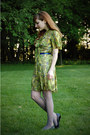 Lime-green-modcloth-dress-black-thrifted-shoes-silver-target-tights