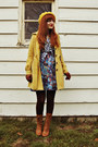 Bronze-oxford-modcloth-boots-navy-floral-charlotte-russe-dress