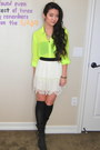 Ivory-lace-forever-21-skirt-black-leather-donald-j-pliner-boots
