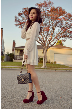 Chanel bag - Dolce Vita dress