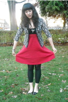 American Apparel skirt - Capezio tights - Ann Taylor Loft sweater