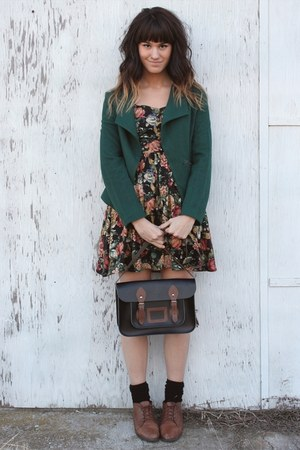 dark green Francescas Collections jacket
