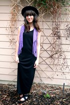 violet vintage vest - black Wanted sandals