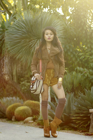 free people shorts - boots seychelles boots - BB Dakota jacket