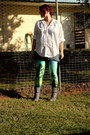 Sky-blue-aurora-skye-black-milk-clothing-leggings-heather-gray-gifted-boots