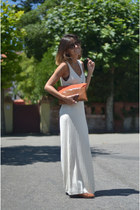 massimo dutti dress - zara bag - vintage belt