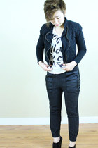 Jeffrey Campbell shoes - jacket - Zara pants